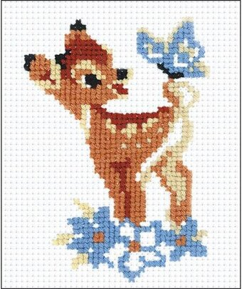 Bambi - Cross Stitch Kit