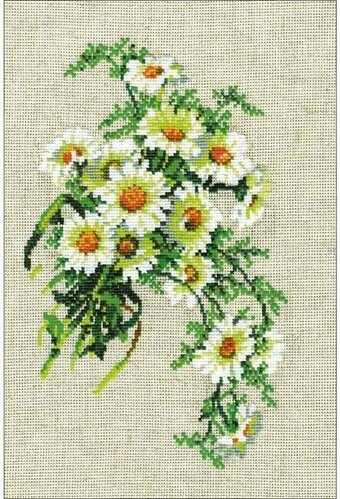 Bouquet Of Camomiles - Cross Stitch Kit