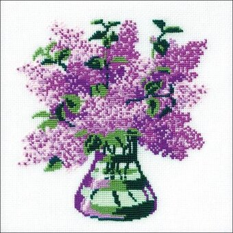 Bunch Of Lilacs - Cross Stitch Kit