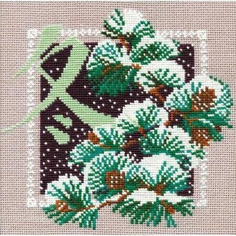 Winter - Cross Stitch Kit