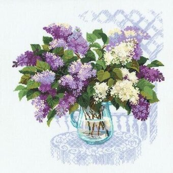 The Smell Of Spring Flowers - Cross Stitch Kit