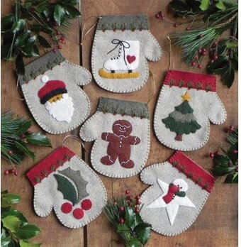 Warm Hands - Felt Applique Kit