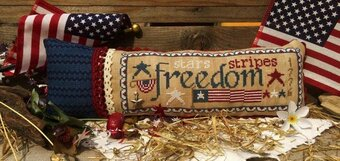 Freedom (with charms) - Cross Stitch Pattern