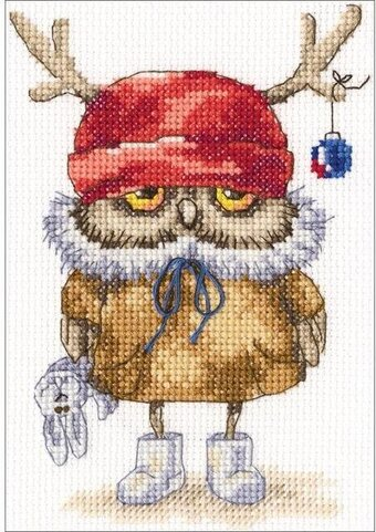 Ready For The New Year - Cross Stitch Kit