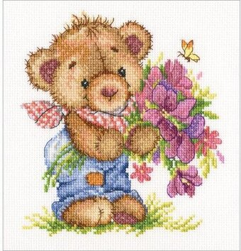 Giving You Flowers - Cross Stitch Kit
