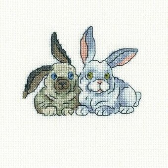 Brer Rabbits - Cross Stitch Kit