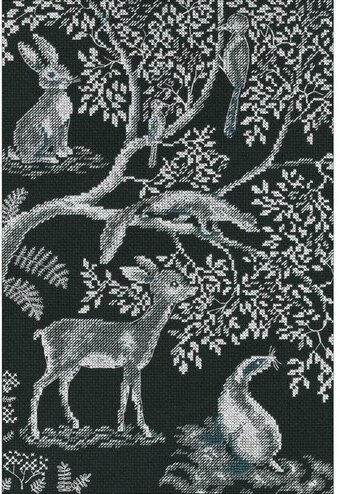 Forest Laces - Cross Stitch Kit