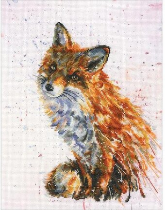 Foxy - Cross Stitch Kit