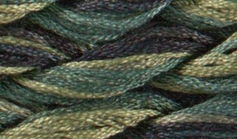 Dinky Dyes Silk Thread - Irish Meadows