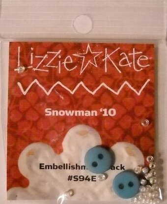 Embellishment Pack for Snowman '10