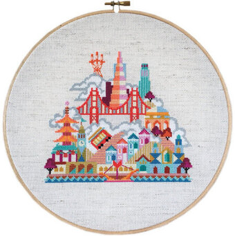 Pretty Little San Francisco - Cross Stitch Pattern