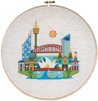 Pretty Little Sydney - Cross Stitch Pattern