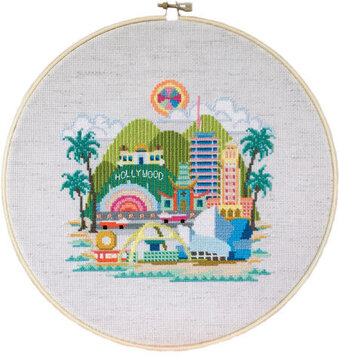 Pretty Little Los Angeles - Cross Stitch Pattern