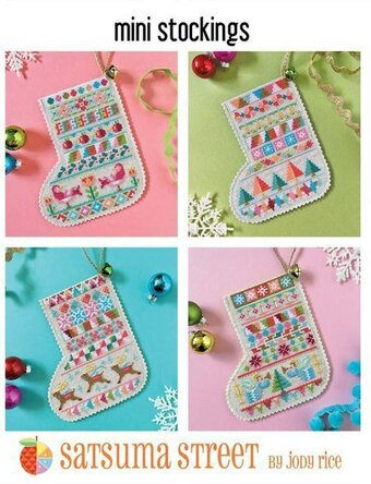 Mini Stockings - Cross Stitch Pattern