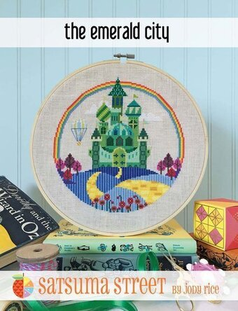 Emerald City - Cross Stitch Pattern