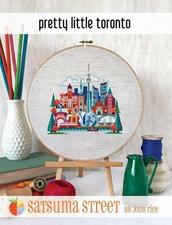 Pretty Little Toronto - Cross Stitch Pattern