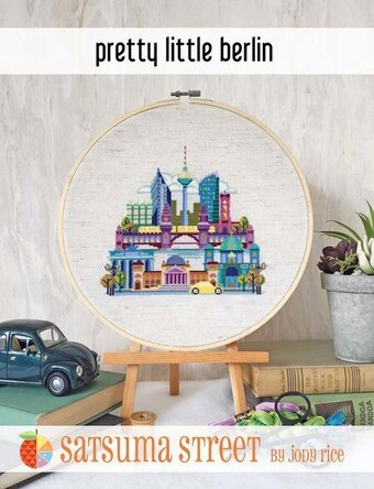 Pretty Little Berlin - Cross Stitch Pattern