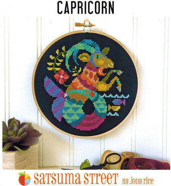 Capricorn - Cross Stitch Pattern