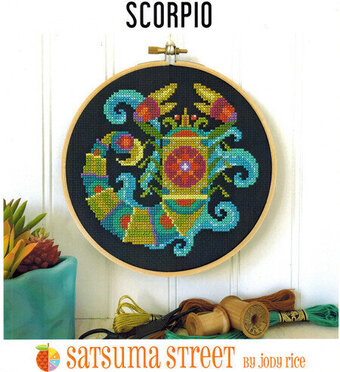 Scorpio - Cross Stitch Pattern