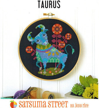 Taurus - Cross Stitch Pattern