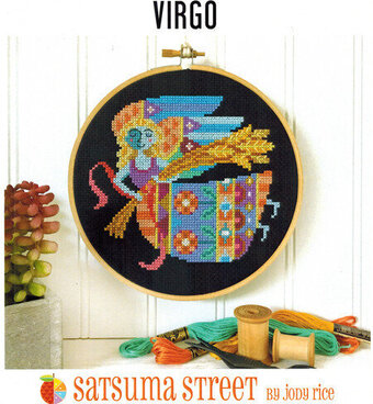 Virgo - Cross Stitch Pattern