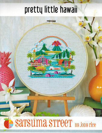 Pretty Little Hawaii - Cross Stitch Pattern