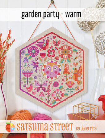 Garden Party Warm - Cross Stitch Pattern