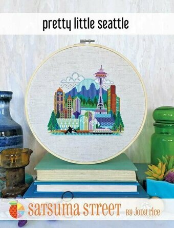 Pretty Little Seattle - Cross Stitch Pattern