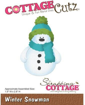 CottageCutz Winter Snowman Die