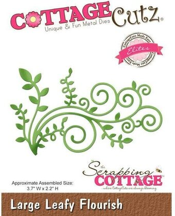 CottageCutz Large Leafy Flourish Die