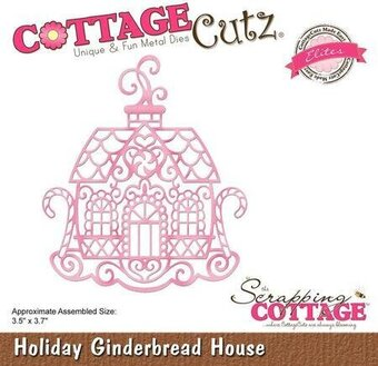 Holiday Gingerbread House - CottageCutz Christmas Craft Die