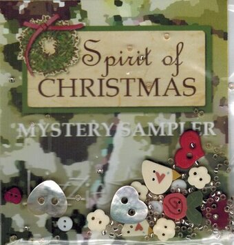 Spirit of Christmas Mystery Sampler Embellishment Pack