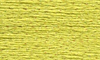 Rainbow Gallery Petite Silk Lame Braid - SP54 Light Avocado