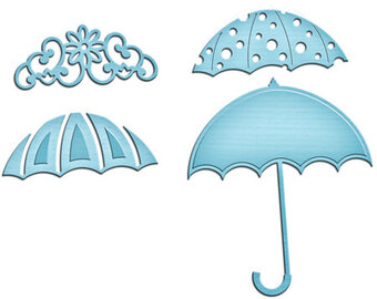 Spellbinders Shapeabilities In'spire Die - Umbrella Trio
