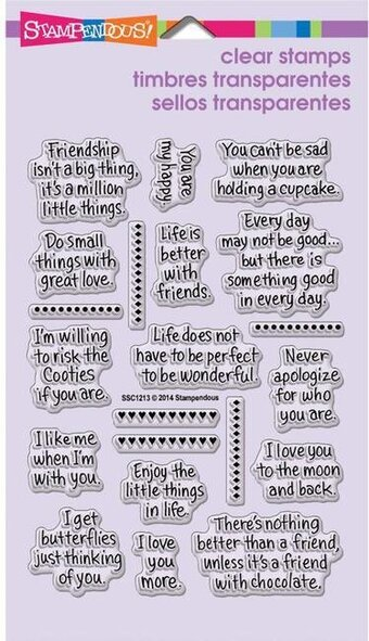 Life Words Perfectly Clear Stamp
