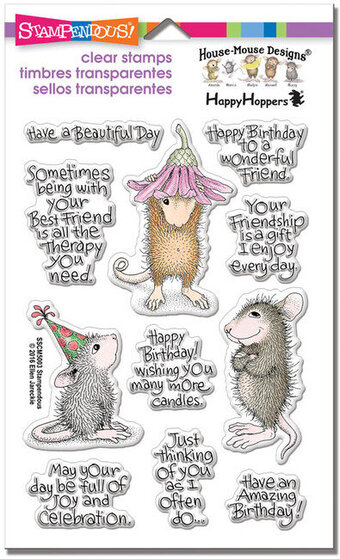 Friend Wishes Perfectly Clear Stamps Set