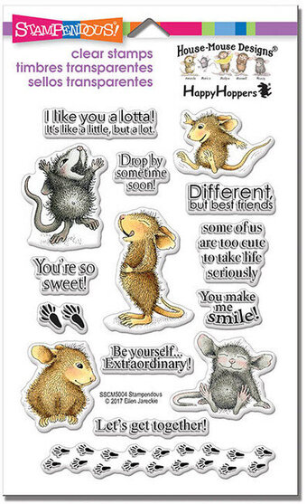 House Mouse So Sweet Perfectly Clear Stamps
