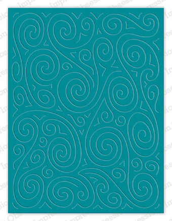 Swirl Cuts Background - Impression Obsession Craft Die
