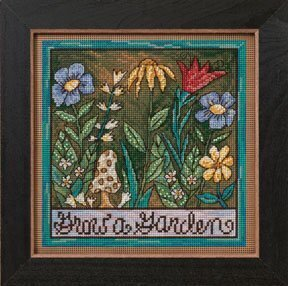 Grow a Garden - Beaded Cross Stitch Kit