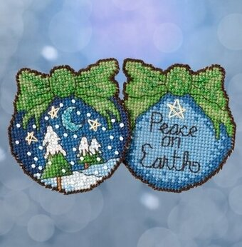 Peace on Earth - Beaded Cross Stitch Kit
