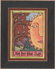 Live by the Sun - Beaded Cross Stitch Kit