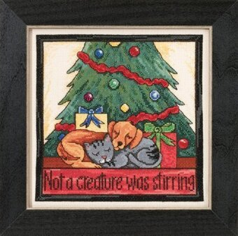 Not a Creature Was Stirring - Beaded Cross Stitch Kit