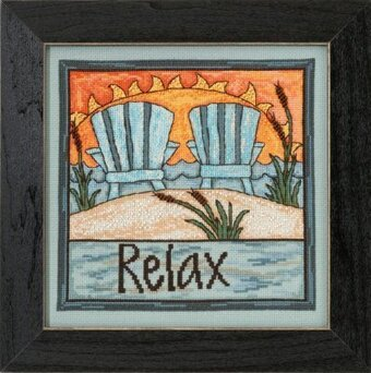 Relax - Beaded Cross Stitch Kit