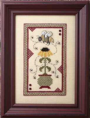 Black Eyed Susan - Cross Stitch Pattern