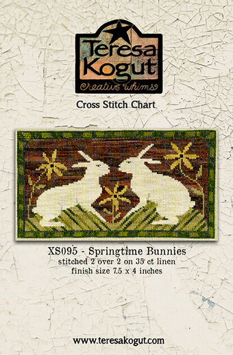 Springtime Bunnies - Cross Stitch Pattern
