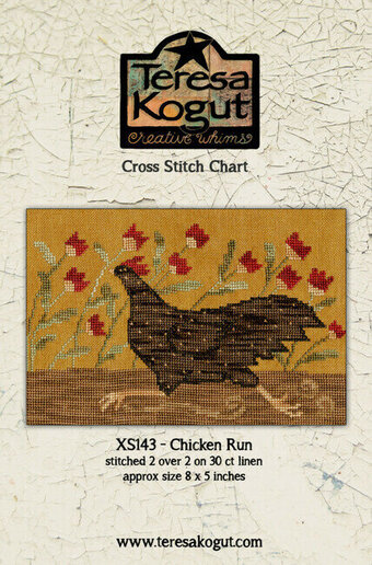 Chicken Run - Cross Stitch Pattern