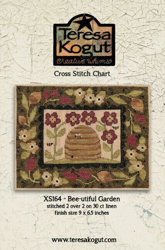 Bee-utiful Garden - Cross Stitch Pattern