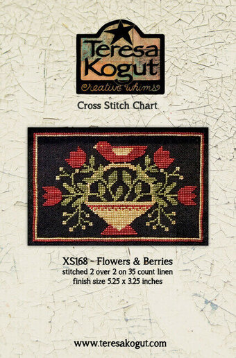 Flowers and Berries - Cross Stitch Pattern