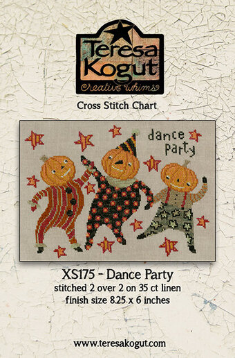 Dance Party - Halloween Cross Stitch Pattern