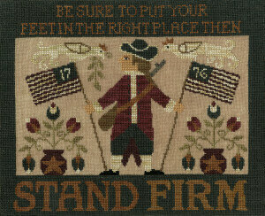 Stand Firm - Cross Stitch Pattern